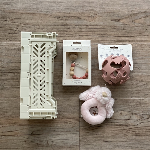 Tiny Tot babypakke - Dusty Rose